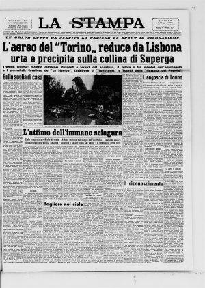 Prima pagina del 05/05/1949