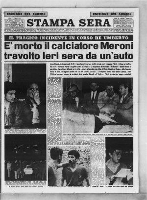 Prima pagina del 16/10/1967